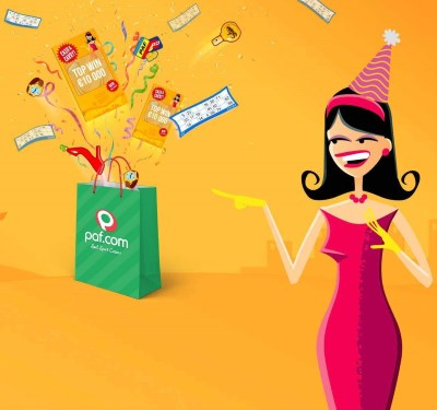 PAF bonusar och free spins